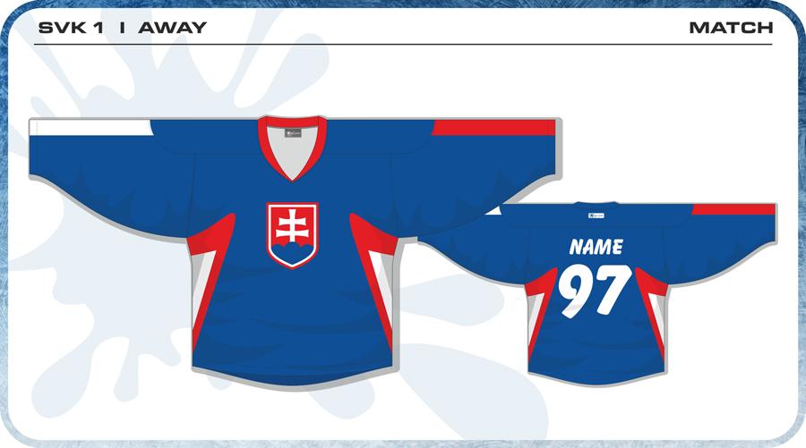 2bb4b4ce020 Slovenský hokejový dres - SVK1 Home · Hokejový dres Slovenska